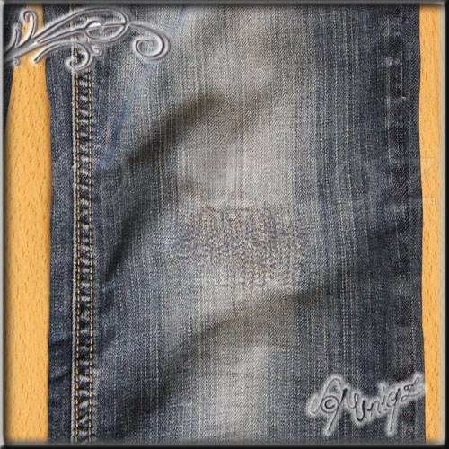 Jeansreparatur im Detail: tragbar - oder?