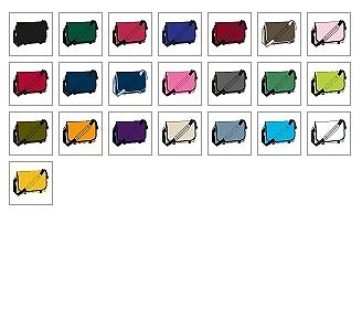 Farbkarte für Abitur-Messengertaschen