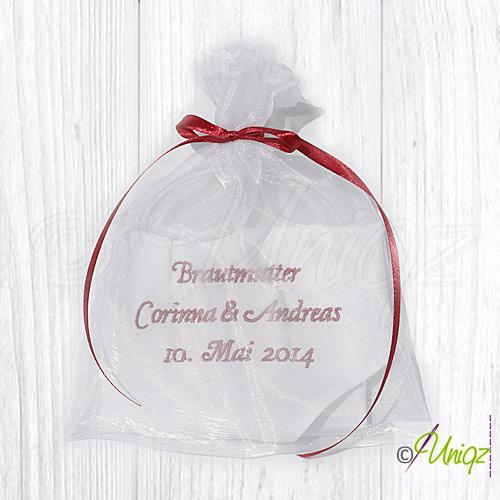 Freudentränen Taschentuch für die Brautmutter
