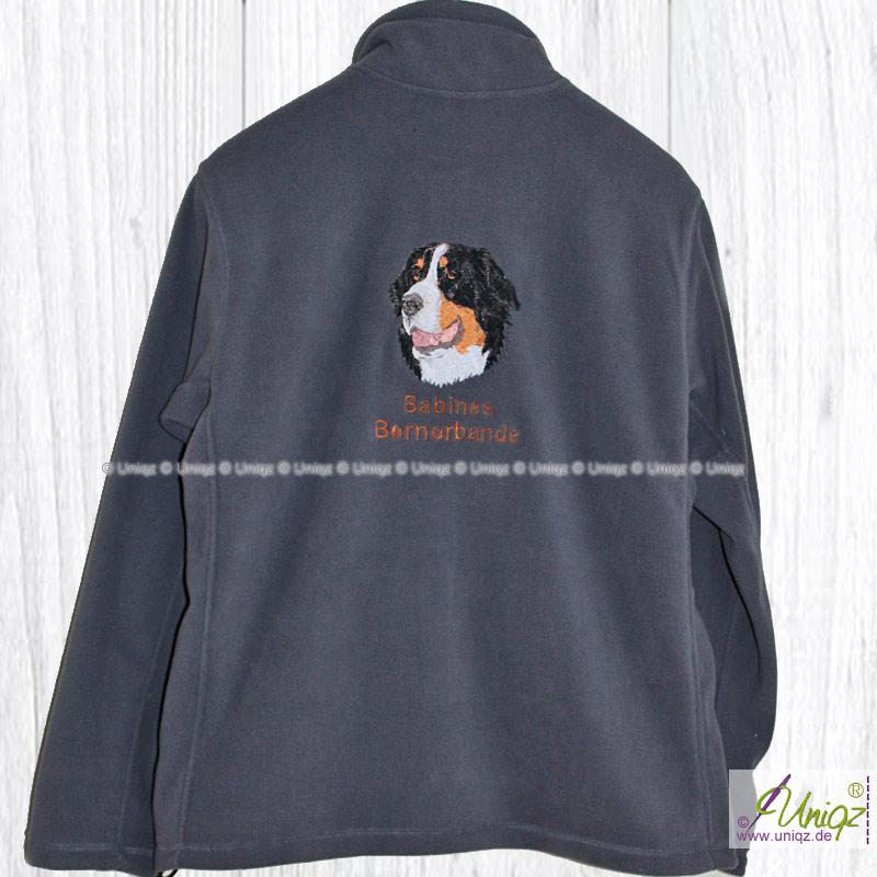 Damen Fleecejacke Berner Sennenhund