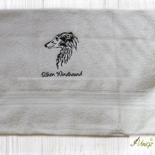 Silken Windhound Stickerei
