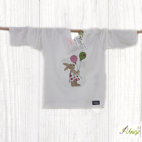 Kinder T-Shirt mit Hasenmädchen