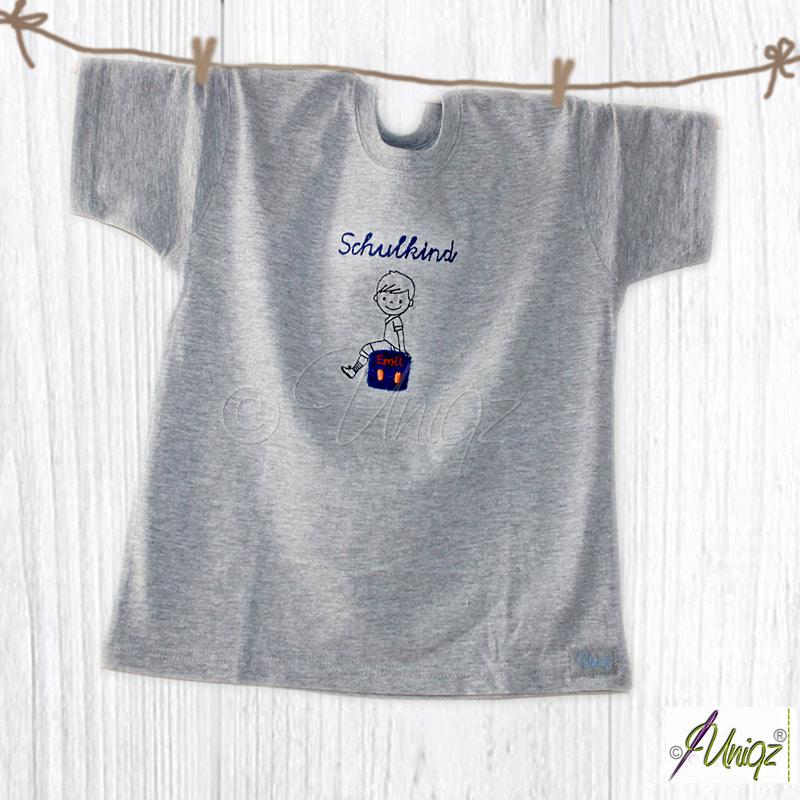 Jungen-T-Shirt zum Schulstart