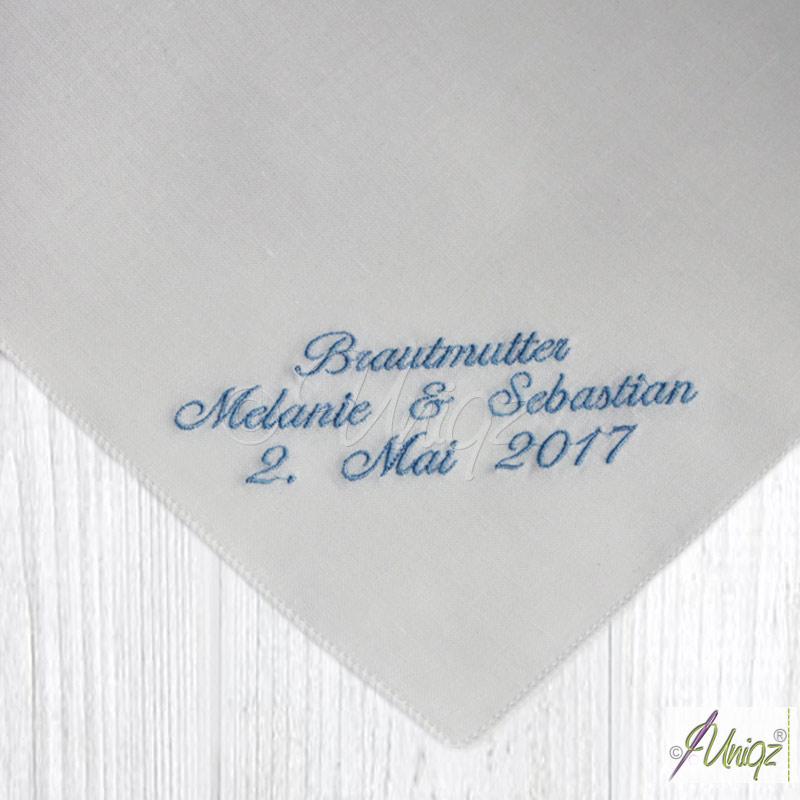 Taschentuch für Freudentränen