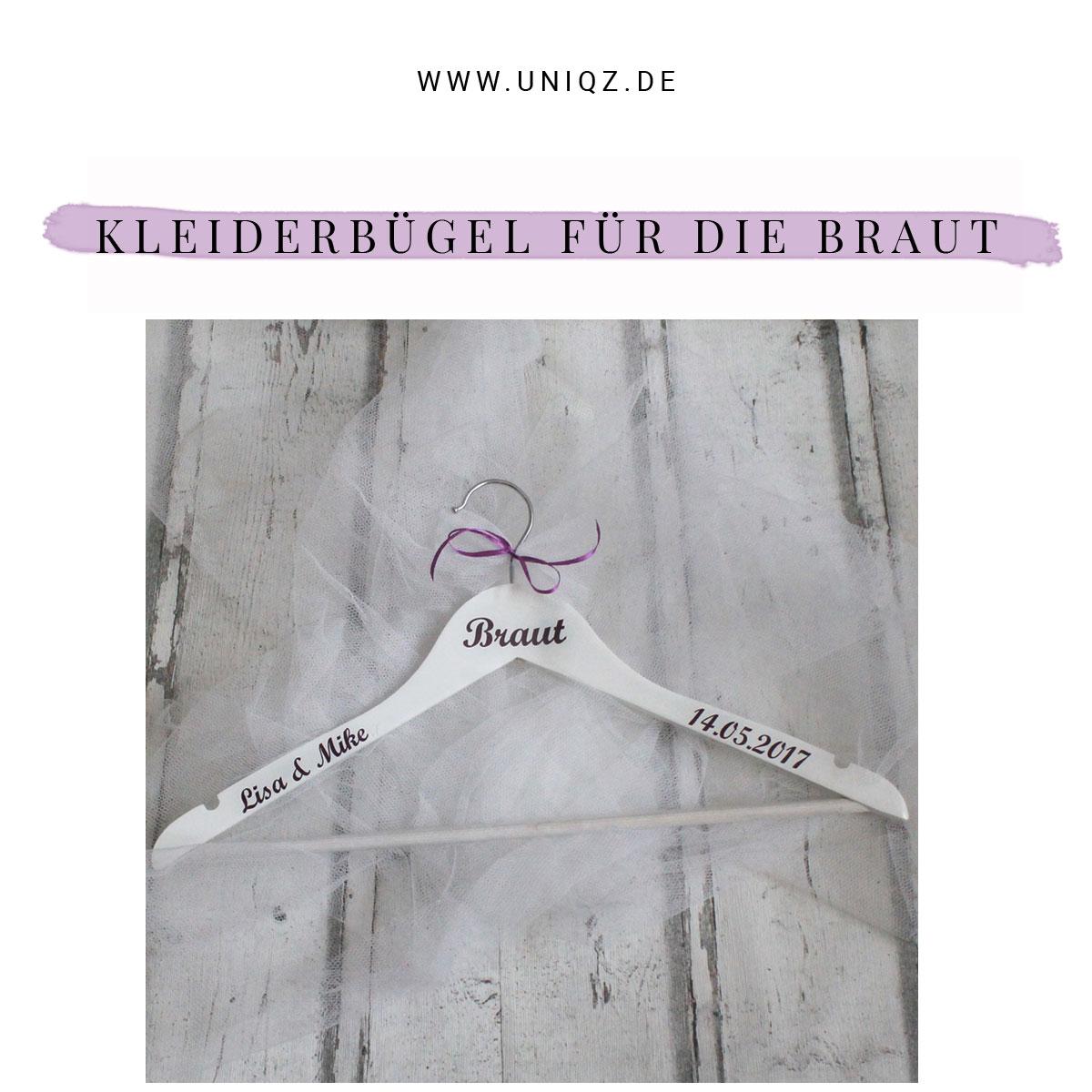Neu bei Uniqz: Hochzeits-Kleiderbügel
