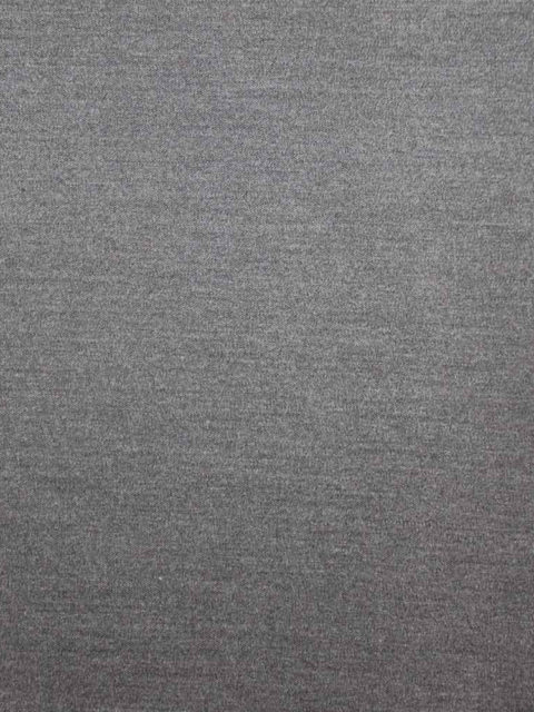 Gabardine mit Elasthan, grau meliert, ca. 150 x 140 cm | 10 €