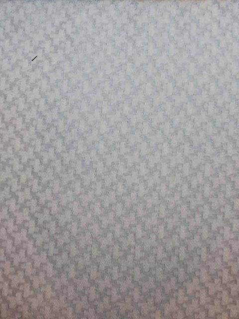 Jacquard Webware mit Stand, silbergrau/weiß, ca. 150 x 140 cm | 6 €