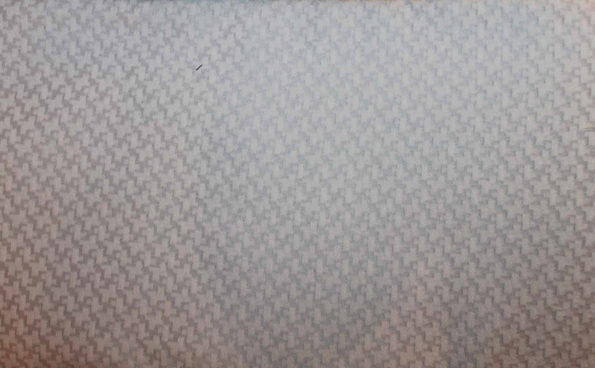 Jacquard Webware mit Stand, silbergrau/weiß, ca. 150 x 140 cm   6 €