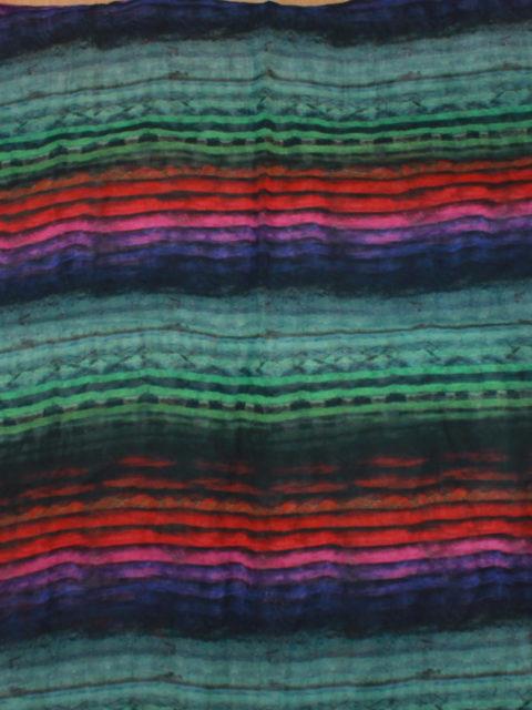 Transparenter Chiffon in leuchtenden Farben - toll für Lagenlook, Synth. ca. 150 x 140 cm | 6,- €