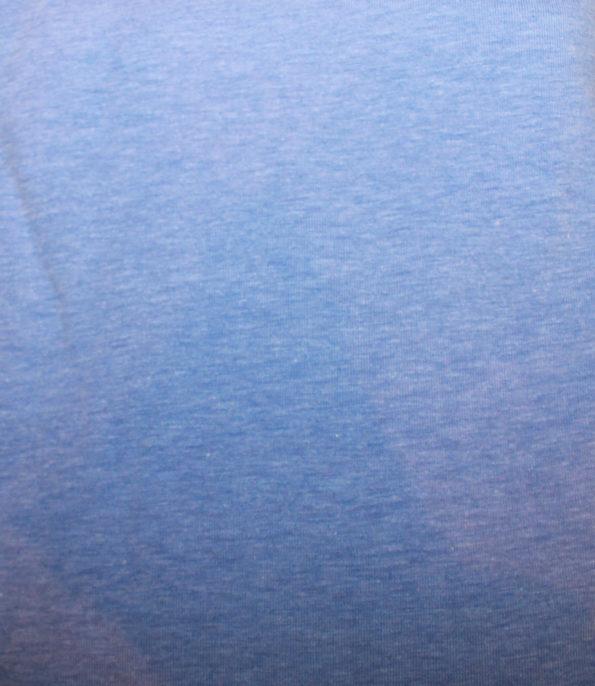 Bw.-Jersey mit Elasthan, hellblau meliert, ca. 100 x 140 cm   5,- €