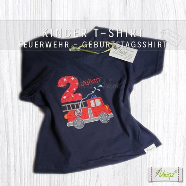 Geburtstags T-Shirt Feuerwehr