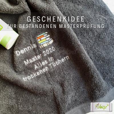 Geschenkidee: Duschtuch Master