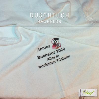 Geschenkidee: Duschtuch Bachelor