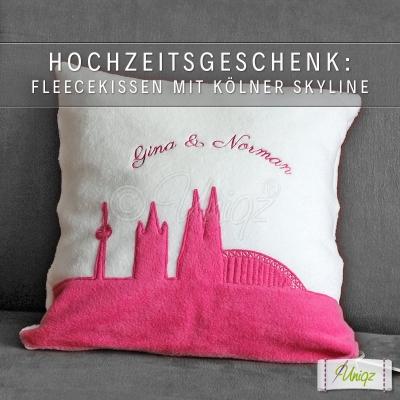 Hochzeitskissen für Kölner Paare