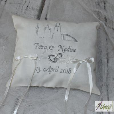 Geldgeschenk Skyline Köln zur Hochzeit