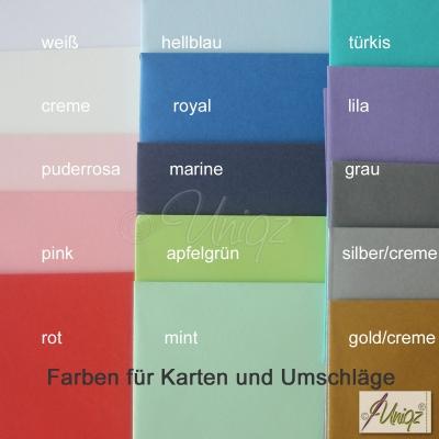 Glückwunschkarte zur Geburt oder Taufe, mit Namen und Schühchen