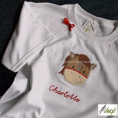 Kinder-Geburtstags-T-Shirt, Pferd